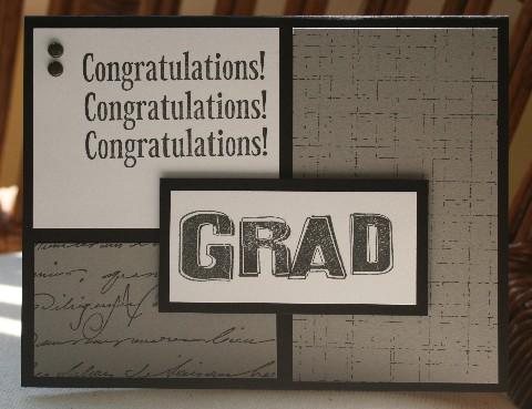 Grad congrats grey