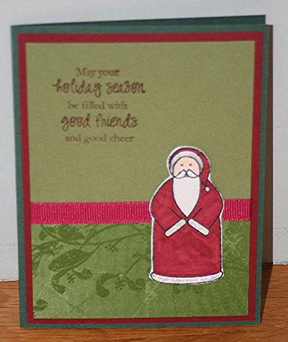 Holiday season santa