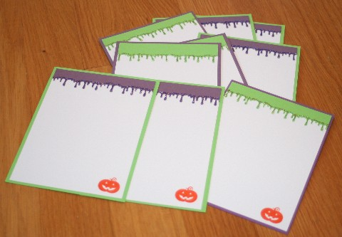 Notecards goo set