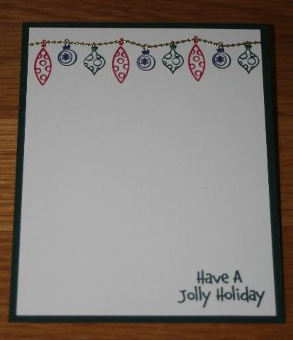 Notecard holiday