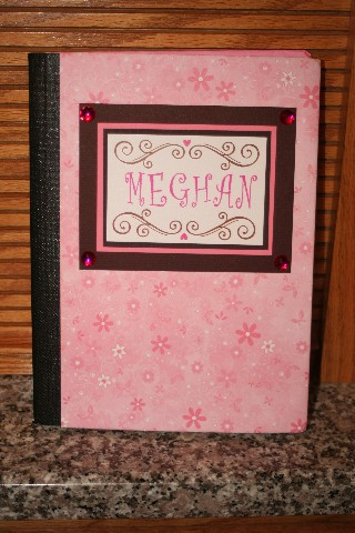 Comp notebook meghan