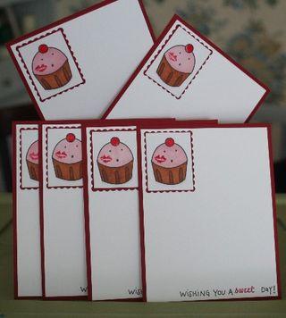 Notecard set sweet day