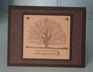 Sympathy tree brown