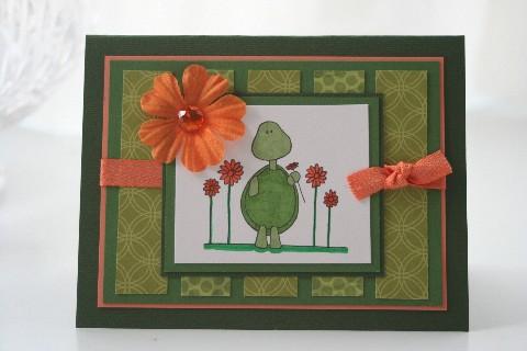 Flower turtle panel