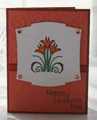 Mothers day orange