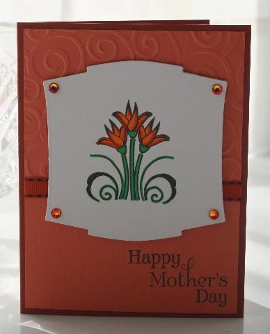 Mothers day orange