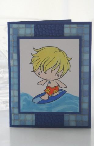 Surfer ian blue
