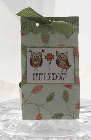 Owl bag box