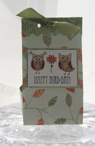 Owl bag box