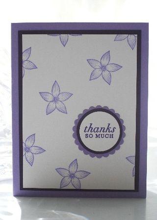 Thanks iris flower