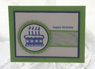 CAS blue birthday