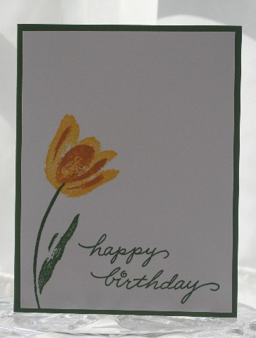 Tulip birthday