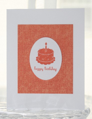 Birthday tangerine