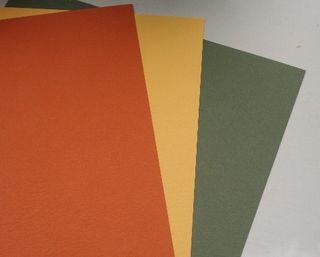 Cardstock sample