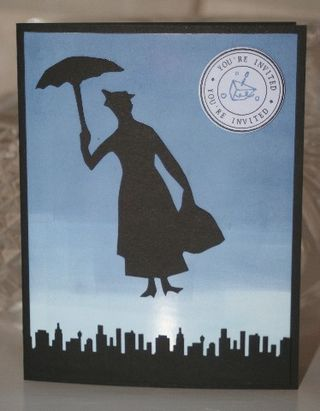 Mary poppins invite