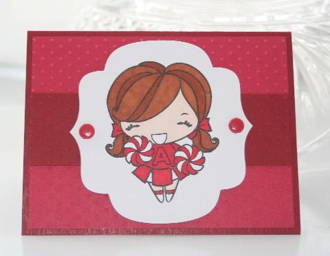 Red anya cheer