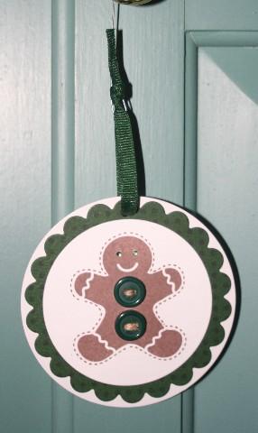 Ornie gingerbread green 1