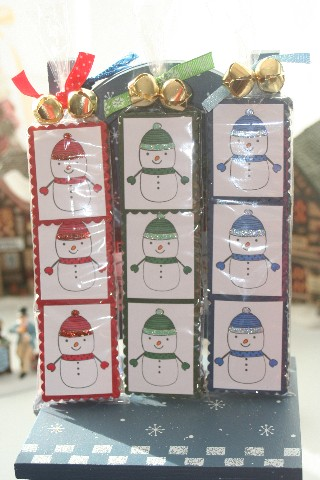Peppermint snowmen