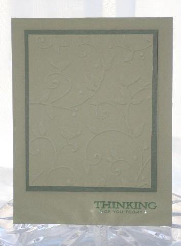 Thinking CB green