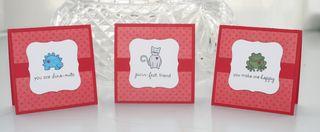 Valentines mini set