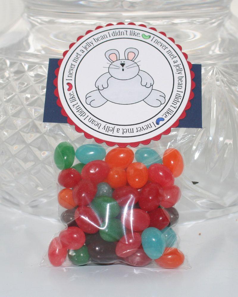 Bunny jelly beans