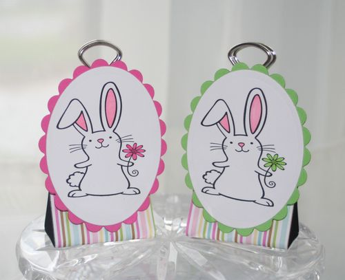 Binder clip bunnies 2