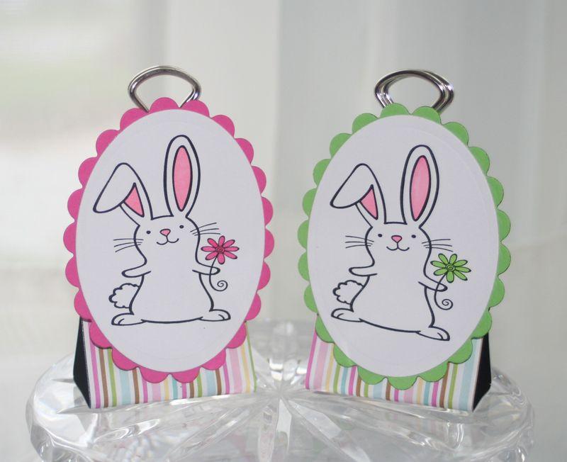 Binder clip bunnies 2