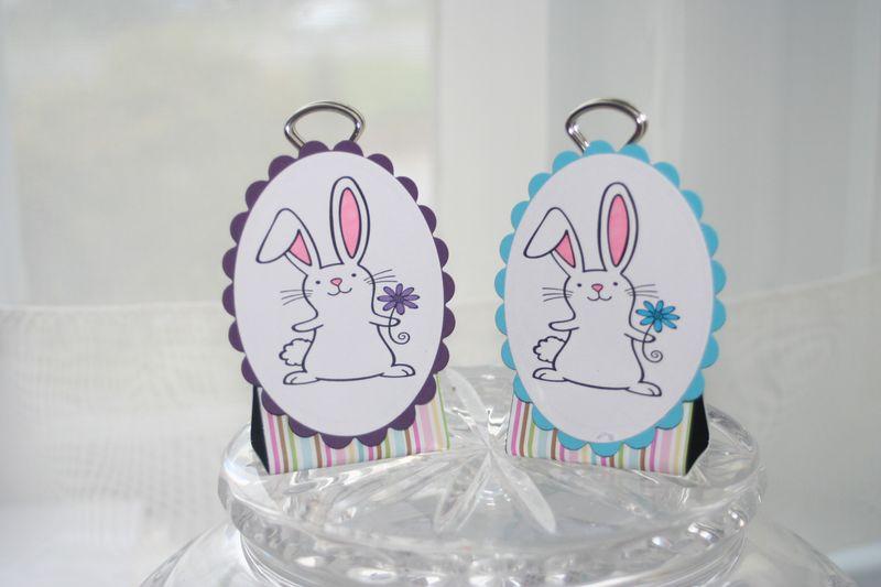 Binder clip bunnies 1