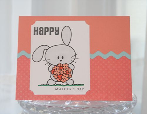 Mothers day bunny