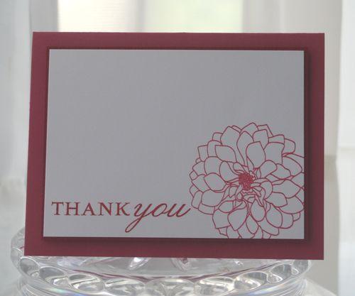 Thanks blossom