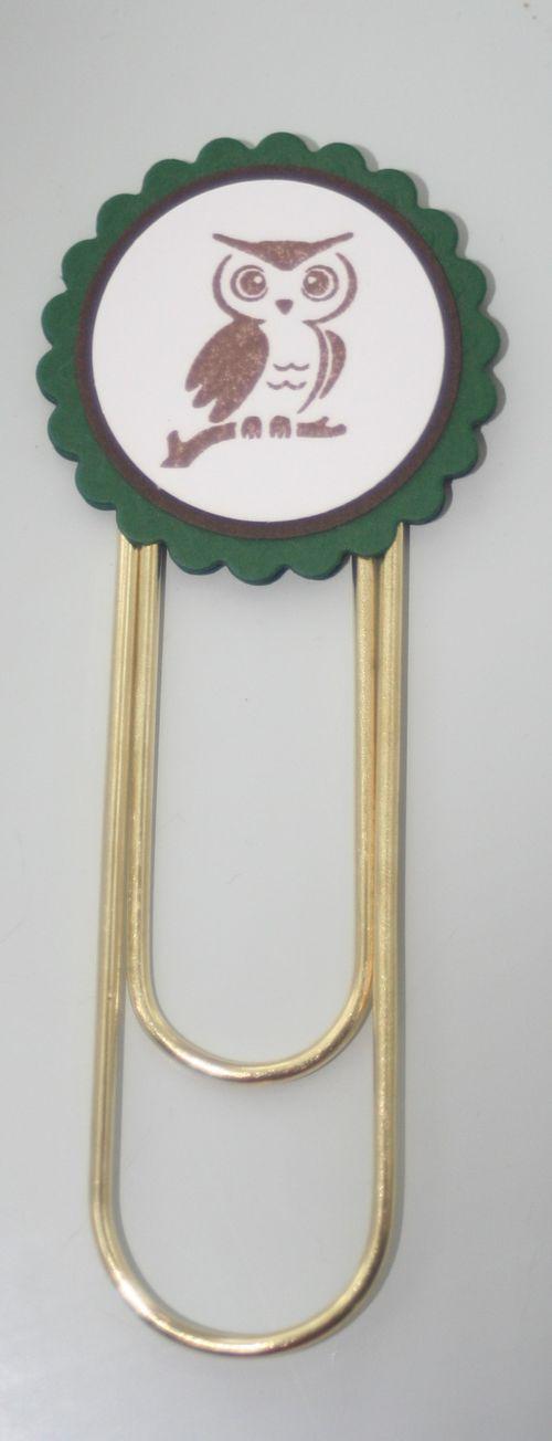 Clip bookmark owl