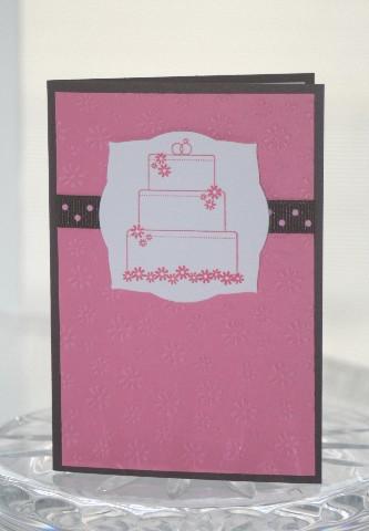 A1 wedding cake pink