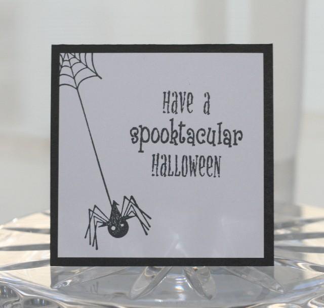 Mini spider halloween