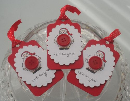 Santa button set