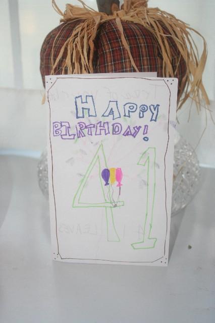 Bday card from meg 1