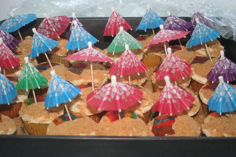 Cupcake beach set