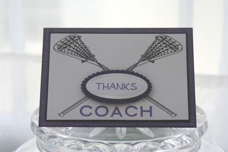 Lax coach thanks