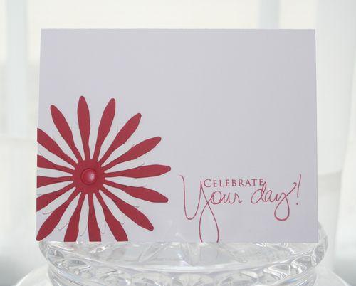 Celebrate red flower