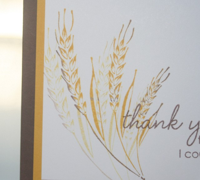 Thank you wheat inset