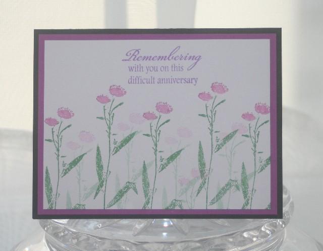 Remembering purple flowers