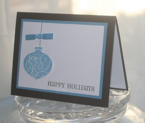 Holidays ornament side