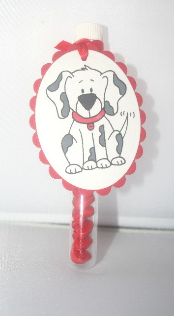 Valentine pup topper 2
