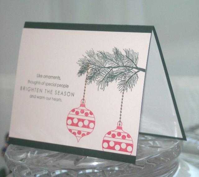 Xmas ornaments side