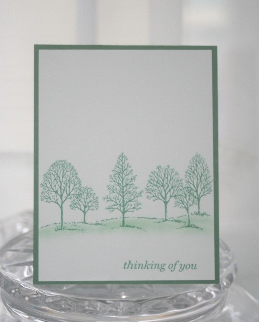 Thinking of you trees