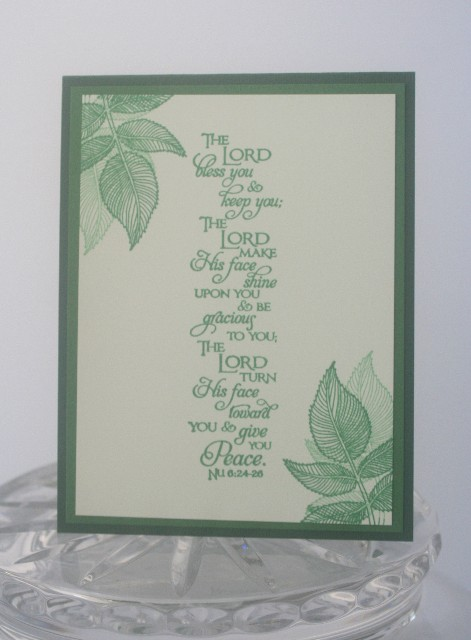 Scripture leaves