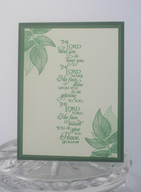 Scripture leaves