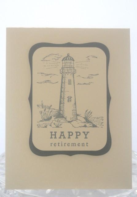 Retirement lighthouse