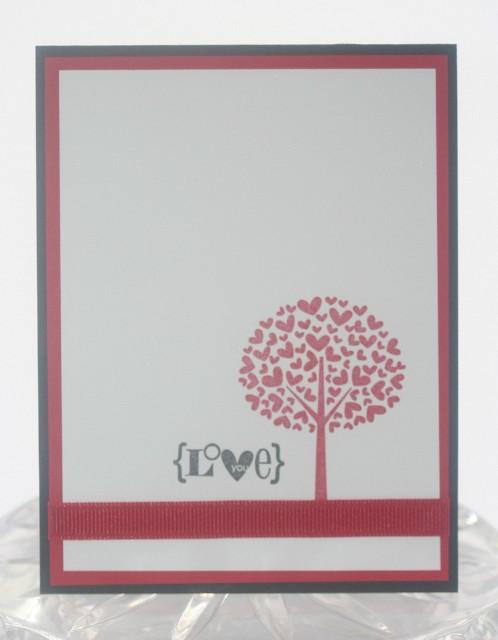 Love you heart tree