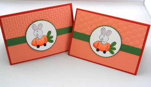 Bunny car pair