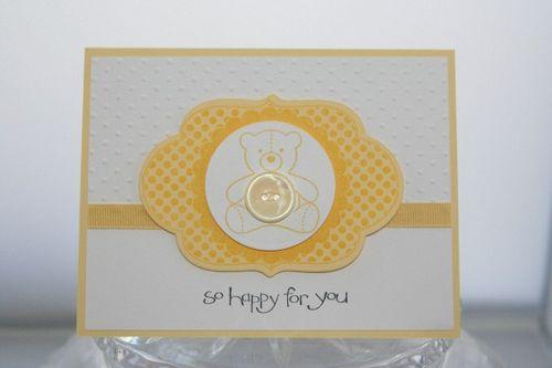 Baby bear yellow